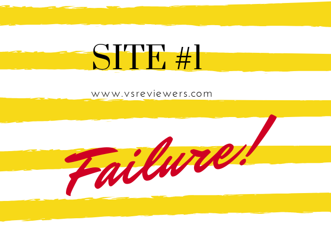 site #1 failure